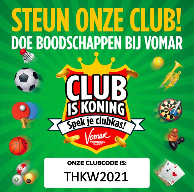 Thamen doet mee aan de Vomar-actie &quote;Club is Koning&quote;